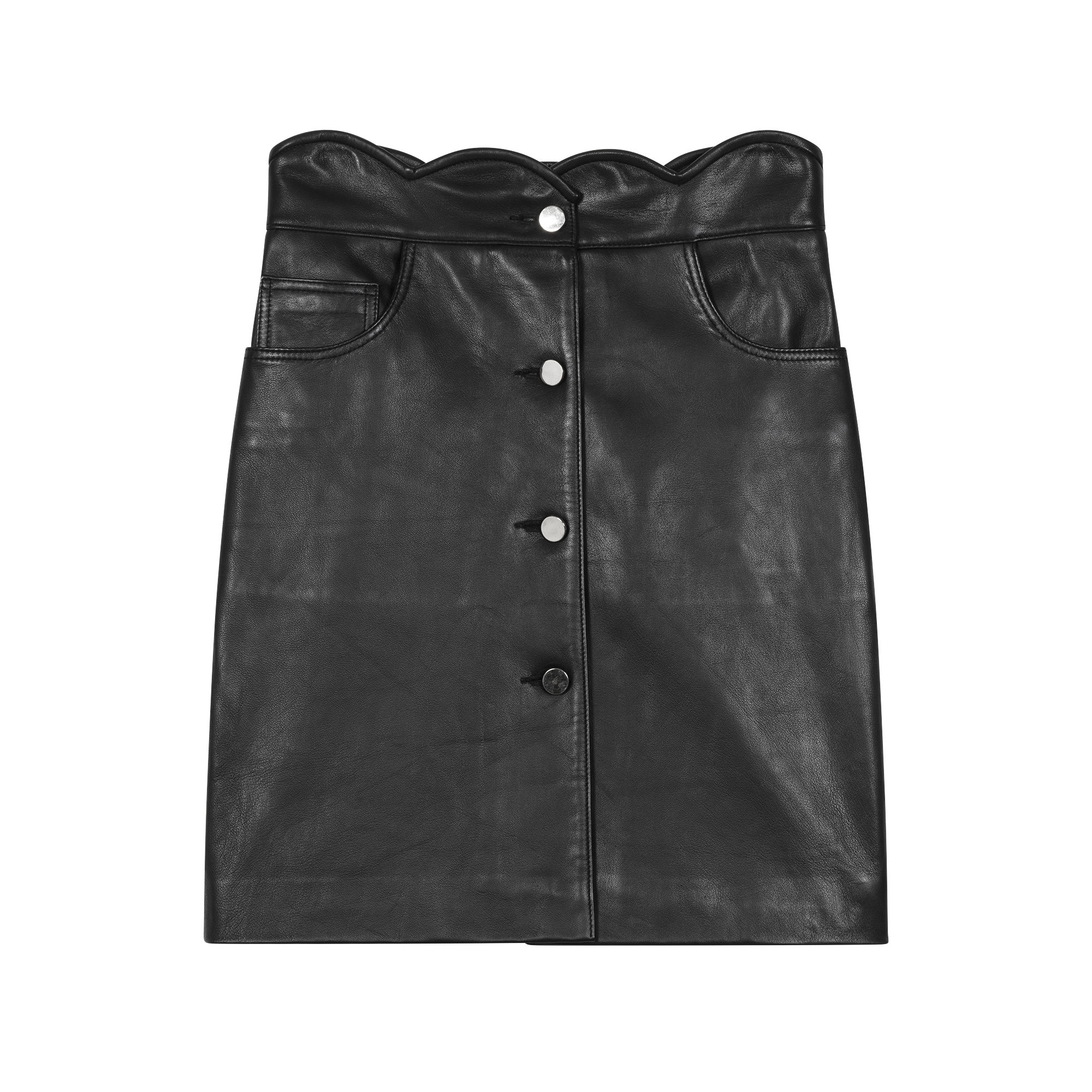 Leather skirt - New in - MAJE